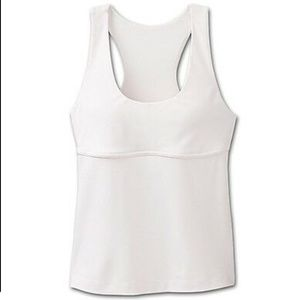 Athleta Empire Waist Padded Racerback Tank Top